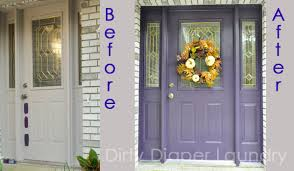 colored front doorsI like my front doors like I like my movies The Color Purple