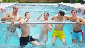 swimming pool with friends. Unique Swimming Visually Similar Footage With Swimming Pool Friends U