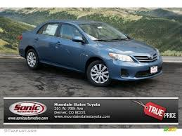 2013 Tropical Sea Metallic Toyota Corolla LE #71434300 | GTCarLot ...