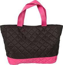 Amazon.com: Threadart Small Quilted Tote Bag - Black/Hot Pink: Beauty & Threadart Small Quilted Tote Bag - Black/Hot Pink Adamdwight.com