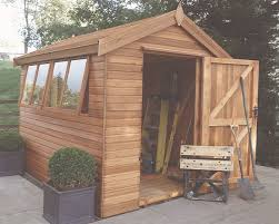 cedar garden shed. Wonderful Garden 8u0027 Deep X 6u0027 Wide Cedar Malvern Apex With Optional Slatted Roof Intended Cedar Garden Shed