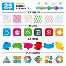 Offer Sale Tags Textures And Charts Hvac Icons Heating Ventilating