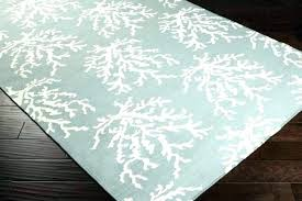 inspirational area rugs or area rugs coastal rugs white c branches on powder blue