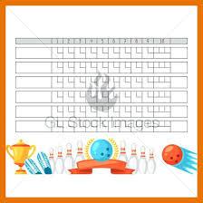 Bowling Score Sheet Template – Bgapps