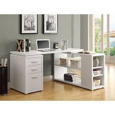 office desk  modern desk l shaped computer desk with hutch l