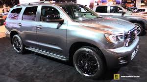 2018 toyota sequoia limited. perfect limited 2018 toyota sequoia trd sport  exterior walkaround 2017 chicago auto  show youtube in toyota sequoia limited