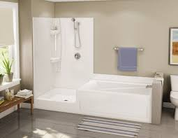 Small Bathtub Shower Japanese Soaking Tubs Bathroom With Rectangle Brown Wood Japanese