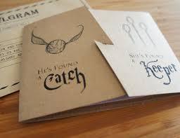 harry potter wedding invitations create your decorative wedding invitation template 41