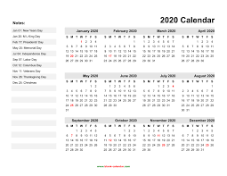 Blank Dec 2020 Calendar Yearly Calendar 2020 Free Download And Print