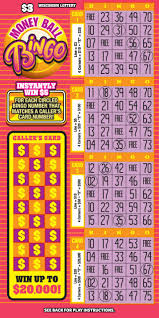 Bingo Ball Generator Money Ball Bingo 2181 Wisconsin Lottery