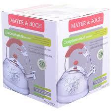<b>Чайник</b> MAYER&BOCH <b>2.6л</b> в Москве – купить по низкой цене в ...