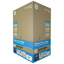 Best Window Caulk Ge Supreme Silicone 101 Oz White Window And Door Caulk M90015 30