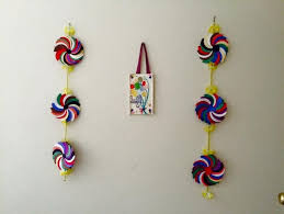 flower wall hanging simple craft ideas wall hangings and simple pertaining to paper craft