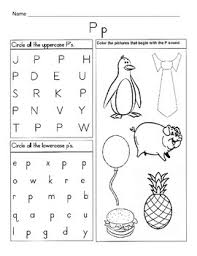 Print all alphabet worksheets and work with your preschooler. 5 Letter P Worksheets Alphabet Phonics Worksheets Letter Of The Week