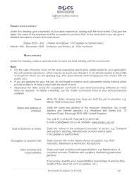 Resume And Cv Format Curriculum Vitae Format Word Resume Template ...