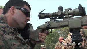 Marines Scout Sniper Requirements Usmc Scout Sniper Combat Marksmanship M40a5 Sniper Rifle