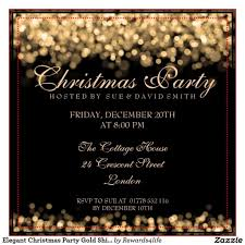 019 Template Ideas Staff Christmas Party Invitation