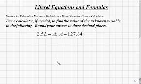 literal equations calculator jennarocca