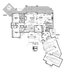 craftsman house plan first floor s house plans and more    luxury house plans