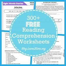 20 Websites for Free Reading Comprehension Worksheets | Education ...