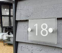 house number signs house number signs diy lighted house numbers and plaques