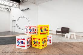 andy warhol furniture. andy warhol brillo pouf u2039 u203a furniture