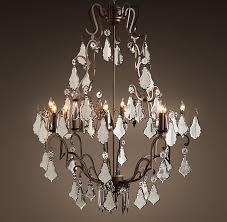 mercury glass chandelier regarding 40 remodel 3