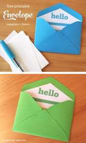 Free Printable: Handmade Kraft #envelopes With A Selection Of ...