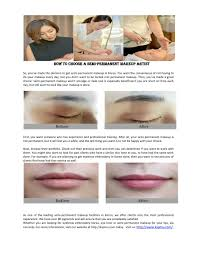 ppt how to choose a semi permanent makeup artist powerpoint presentation id 7229996