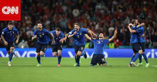 إيطاليا تتأهل إلى نهائي أمم أوروبا بعد الإطاحة بإسبانيا في ركلات الترجيح -  CNN Arabic