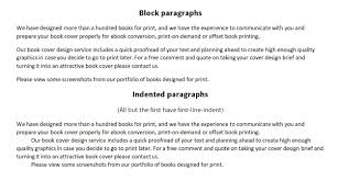 Formatting A Word Document Ready For Self Publishing