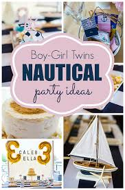 Ahoy Birthday This Nautical Party Theme Is A Must For Your