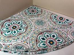 details about round umbrella tablecloth with zipper and hole medallion 70 inch outdoor fabric
