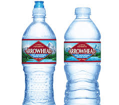 arrowhead bottled water