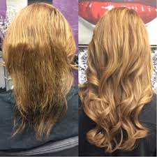 Dream Catchers Hair Extensions Before And After Before and after Dream Catchers microlink individual hair 20