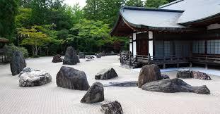 how japanese rock gardens became