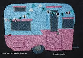 Embroidery Camper Designs Free Embroidery Designs Cute Embroidery Designs