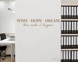 dream on dream wall art uk with wish hope dream quotes wall art stickers