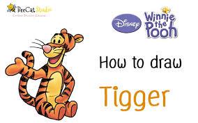 tigger drawings step by step. Modren Tigger On Tigger Drawings Step By E