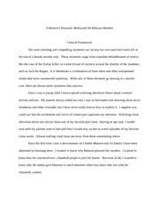 charles manson research paper outline between the methods of the  4 pages charles manson research paper proposal