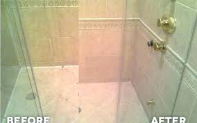repair grout in shower seal grout shower sealing in professional tile and cleaning repair necessary