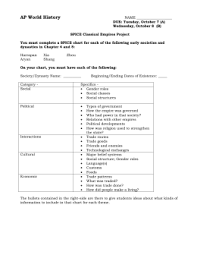 Spice Chart Ap World History Answers Related Image Spice Chart Personalized Items World