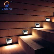 led stair lights outdoor pieces led solar powered stair lights solar step lights outdoor lighting for
