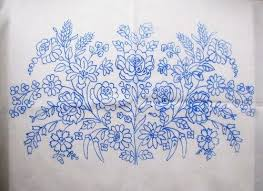 Stamped Embroidery Patterns