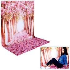 Cherry Blossom Backdrop 5x7ft 100 Polyester Cherry Blossom Backdrop Background For