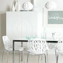 white modern dining chairs. White Modern Dining Room Chairs Top With Regarding Designs B