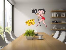 Betty Boop Decal Betty Boop Decor Cartoon Decal Betty Boop Art Fathead Mural Kids Room Designs Life Size Decal Vinyl Betty Boop