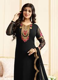 Dress Design Salwar Kameez Latest Latest Pakistani Indian Straight Cut Salwar Kameez 2018 19