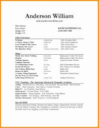 50 Beautiful Actors Resume Template Simple Resume Format Simple
