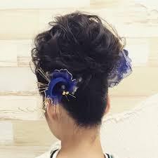 成人式の定番盛り髪ヘアアレンジで華やかさをプラス
